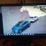 Müşterilerimize Satış Montaj ve Kurulum Yapacağımız Dış Ortam Güvenlik Kamerasının Görüntüsü